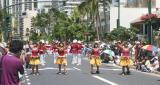 Kamehameha Day Parade Hula Dancers