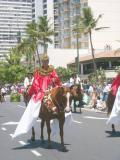 Kamehameha Day Parade rider