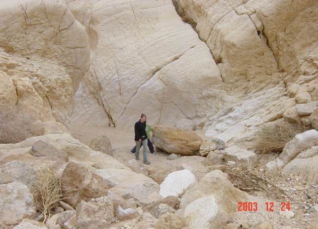 hiking in negev