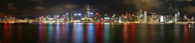 The most beautiful harbour in the world - Victoria Harbour