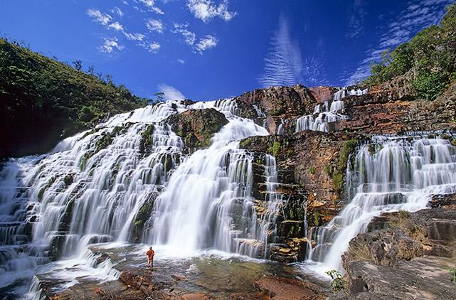 Cachoeira de São Vicente (Catarata dos couros), Chapada dos Veadeiros