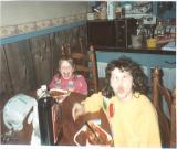 Janie and Karen Cav April, 1988