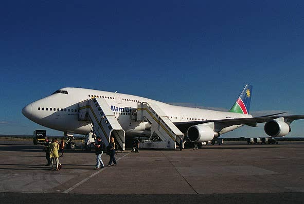 Air Namibia B747-400, Windhoek (WDH)