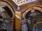 Inside Thanboddhay Paya.