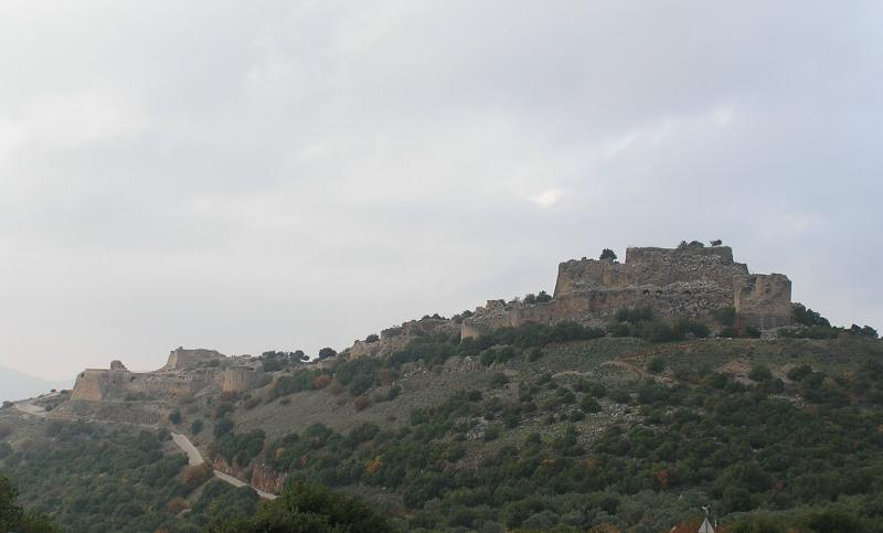 Nimrods Fortress - Crusader castle from 13th Century