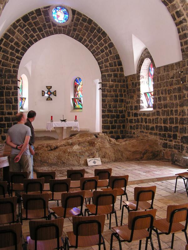 Table of feast, now church