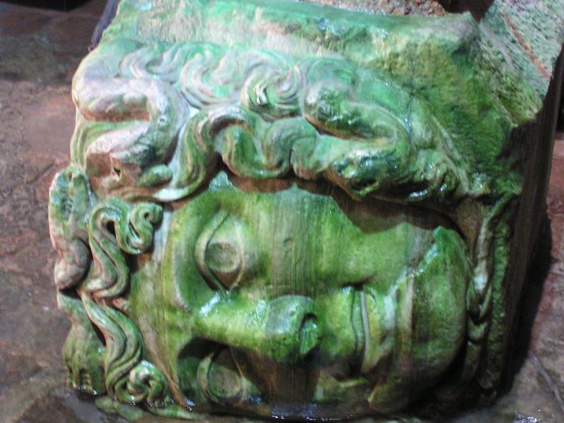 Medusa sideways
