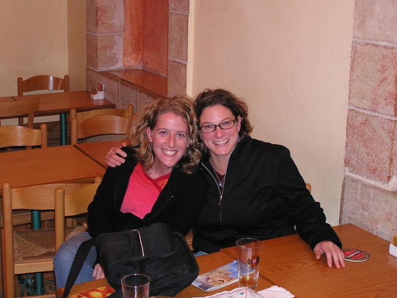 Marisa & Caryn in Jerusalem