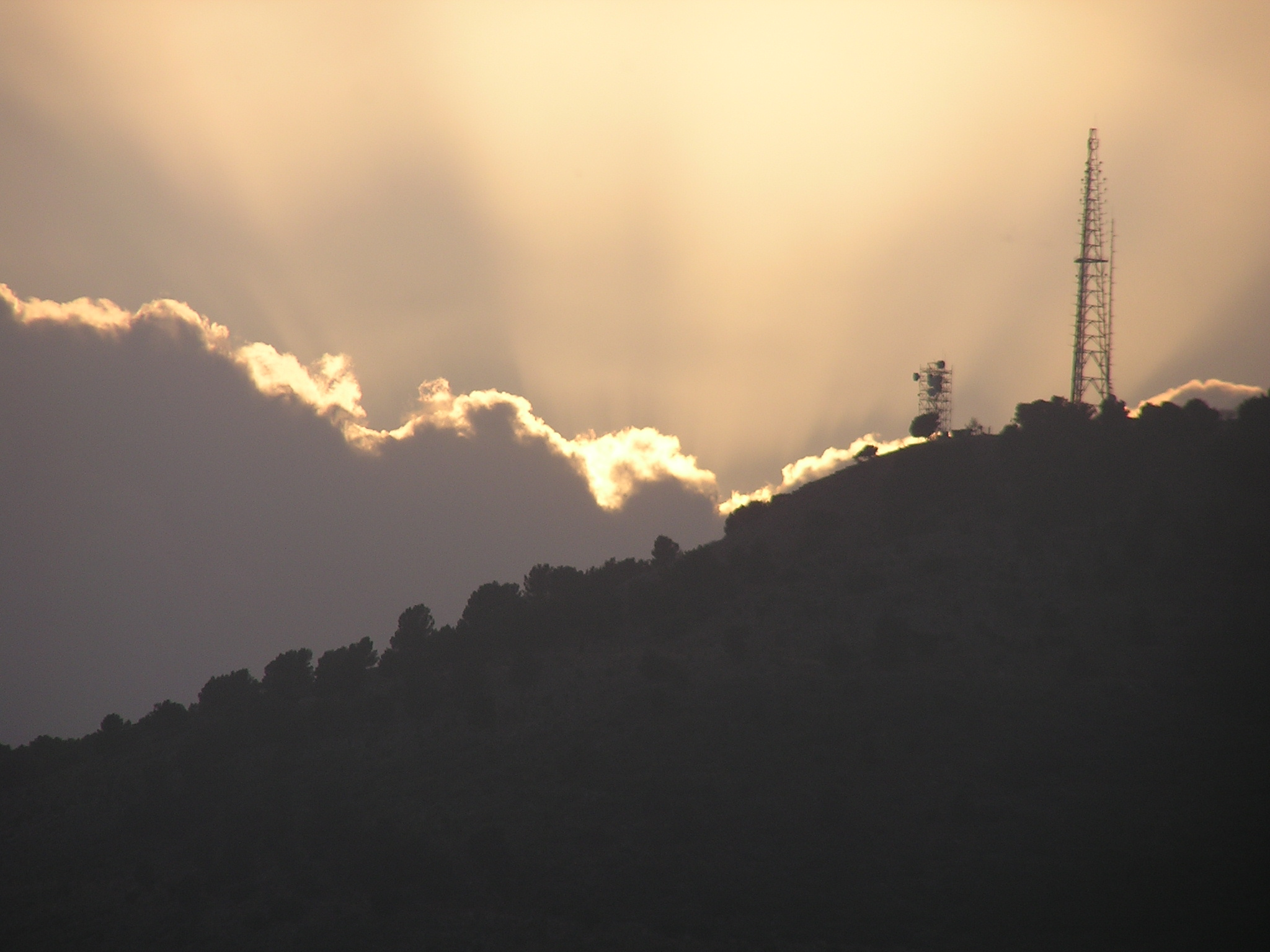 Communications tower on Lebanese border