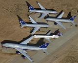 Mothballed aircraft