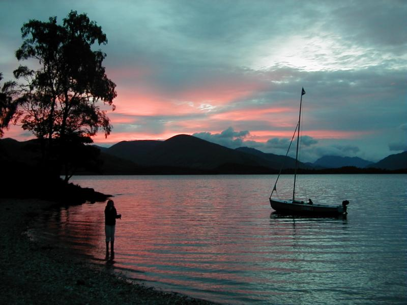 Inchmurran Spit, Loch Lomond 1999