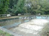 Pool washed out