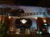 Nashville Hard Rock decorated for Christmas