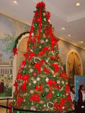 Christmas Tree in a lobby