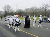 Storm Troopers protect Darth Vader