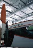 Mise à l'eau du trimaran Groupama 2
