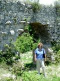 Denise at Fort Alexandre