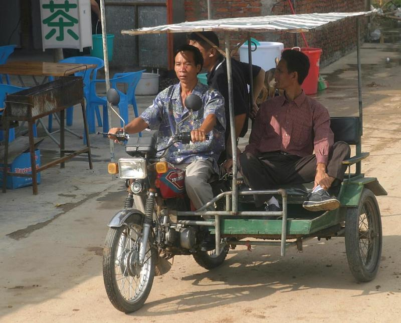 Local transport - Hainan Island