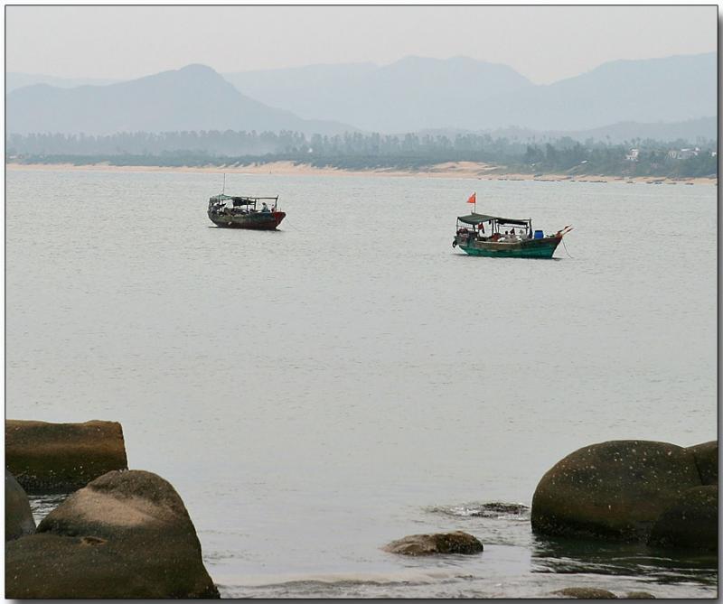 Hainan fishing boats