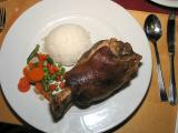 PORK KNUCLE DINNER - TITISEE, GERMANY