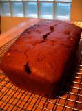 Vegan Pumpkin Bread w/Hazelnuts, Golden Raisins & Candied Ginger