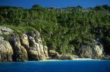 Fregate island beach