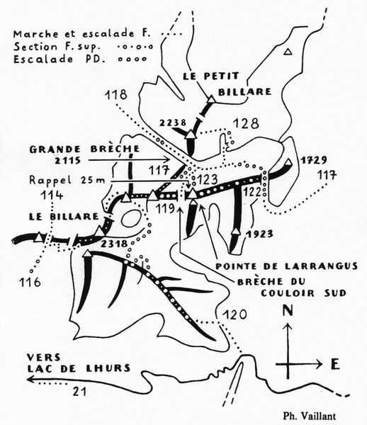 064-Massif du Billare-It. 117/. 118/. 119/. 120/. 122/. 123/.