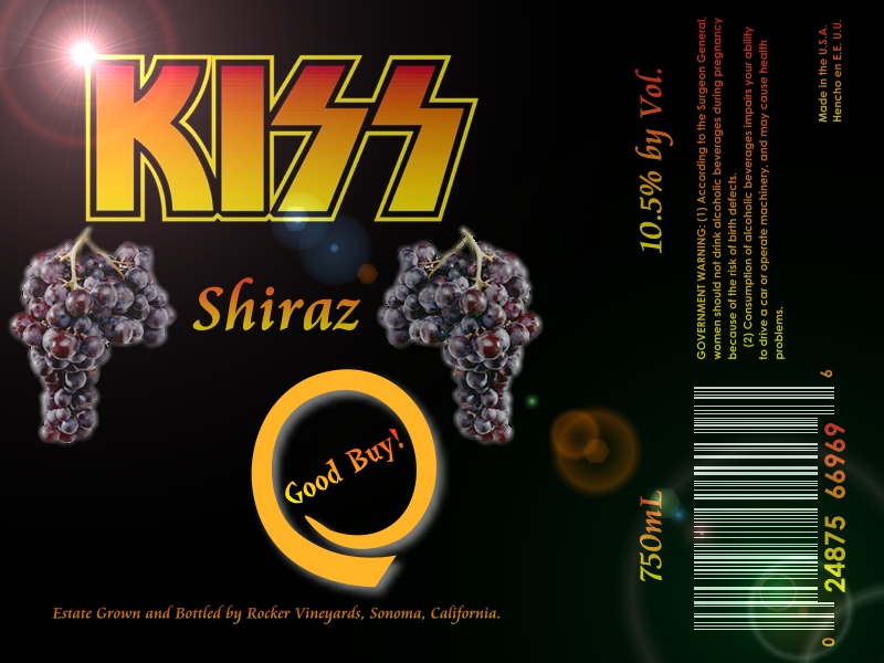 Kiss Shiraz (Good Buy!)