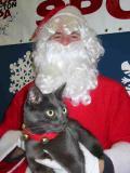 Gus Visits Santa