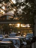 Downtown Spokane at Sunset