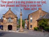 'Psalm 147v1' slide from the 'Martock III' series