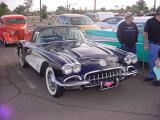 1959 black Corvette