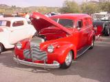 red sedan delivery