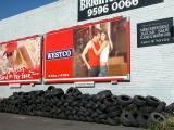 Billboard at Bay St