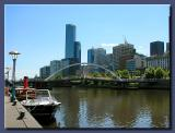 Melbourne from the South Bank