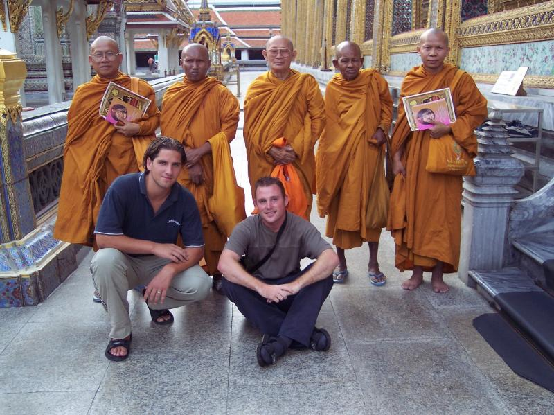 The monks from Bangkok