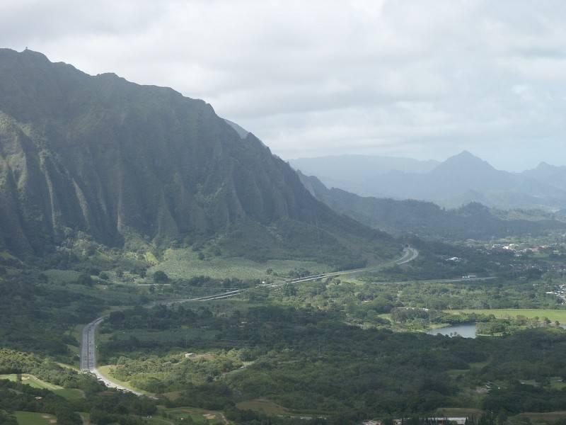 Pali View of Windward Oahu