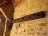 Rusty door hinge