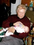 Scarlett and Great-Grandpa