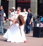Salsa on street
