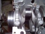 view of #5 main: the thrust bearing