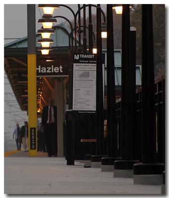 Hazlet Train Station