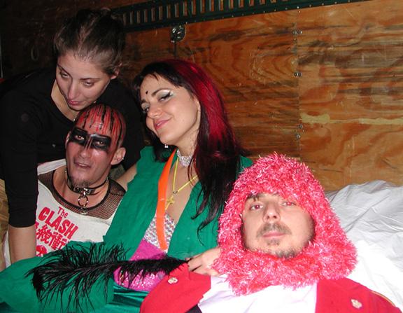 Dafna & Squeege & Lacey & Jason