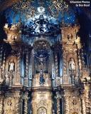 Catholic Cathedral in Quito, Ecuador stock photo