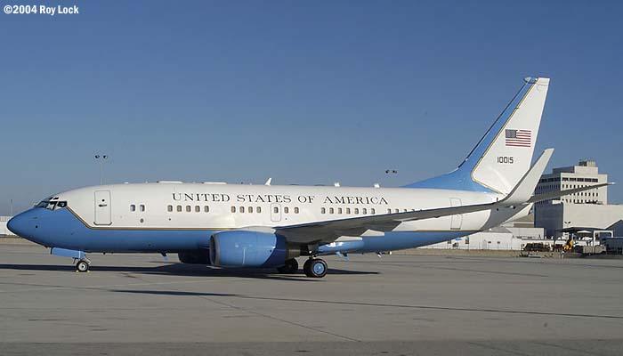 U. S. Air Force C-40  11015