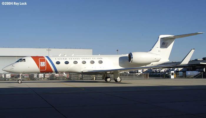 2004 - USCG C-37A  Gulfstream G-V CG-01 non-stock photo