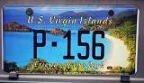 USVI License Plate