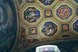 Ceiling with the seal of Pope Pius IX dated 1855, Vatican Museum