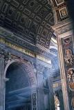 Nave with a ray of light, St. Peter's Basilica