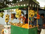 Fruit stand in front of Odel's, Colombo